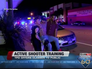 TPD offers active shooter training class