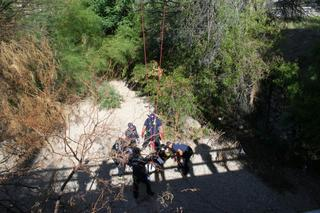 Man rescued after falling into Tucson wash