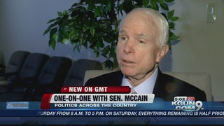 VIDEO: McCain talks with ABC15 sister station