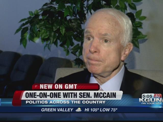 One-on-One with Sen. John Mccain