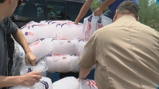 Ice company donates ice to keep PACC's pets cool