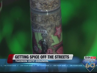 "Getting ""Spice"" off the streets, out of Tucson"