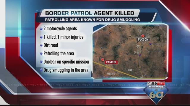 Border Patrol agent killed while on duty - KGUN9.com