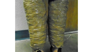 CBP arrests woman with drugs taped to legs