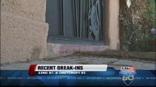 String of break-ins in Tucson neighborhood