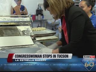 Congresswoman Ann Kirkpatrick stops in Tucson