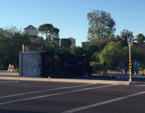 Wreck shuts down EB St. Mary's at Granada