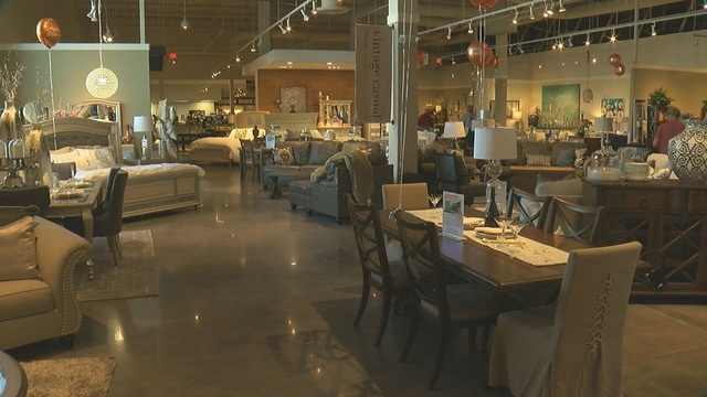 Ashley Homestore Holds Grand Opening