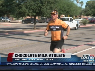 Athletes benefit from chocolate milk