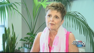 Breast cancer survivor fighting for a cure