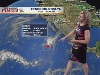 FORECAST: Roslyn: Monsoon 2016's Last Spin