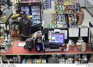 Deputies look for armed man who robbed Circle K