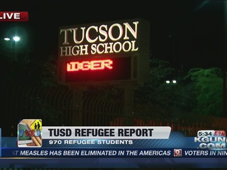 Nearly one-thousand refugee students at TUSD
