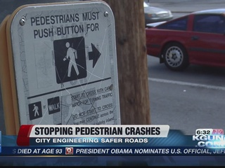 How the city could soon keep pedestrians safer