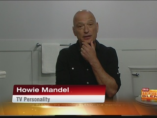 Howie Mandel for the ActiClean Self Cleaning...