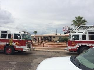 Firefighters contain eastside house blaze