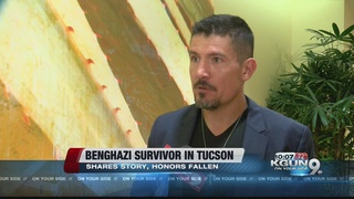 Benghazi survivors shares his story