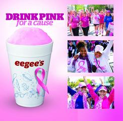 eegee's October 'drink pink' campaign