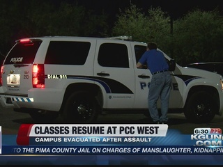 Assault reported at Pima Community College