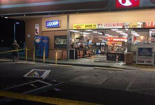 Car crashes into Tucson Circle K