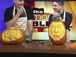 Pumpkin Sculptor Matt Harper