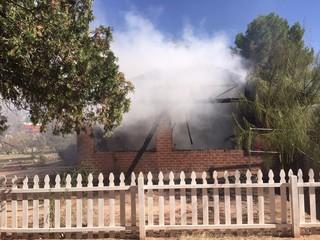 Carport fire kills several animals