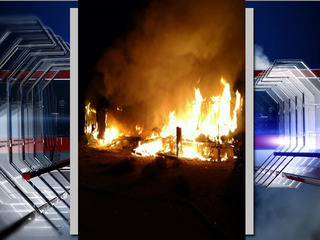 Avra Valley mobile home burns down