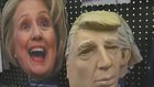 Predicting presidential winner based on masks