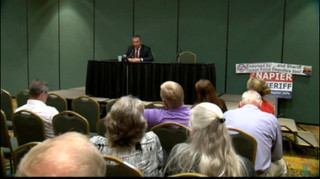 Napier speaks at forum, Nanos doesn't show