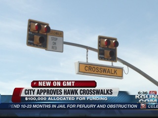 City of Tucson approvesnew HAWK crosswalks