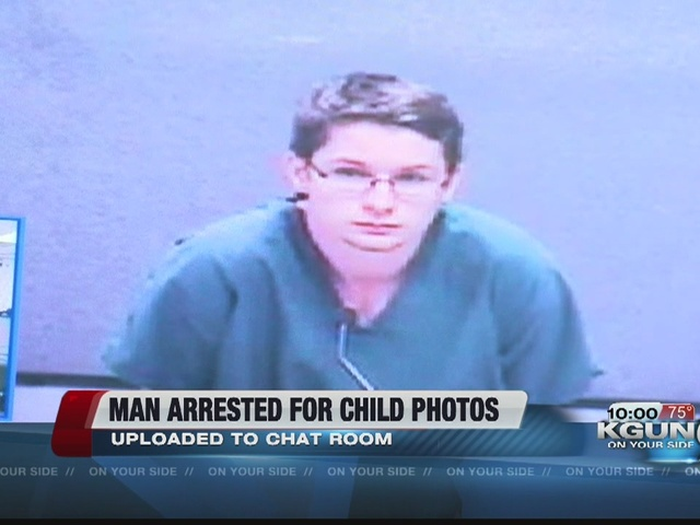 Teen arrested for having explicit child photos