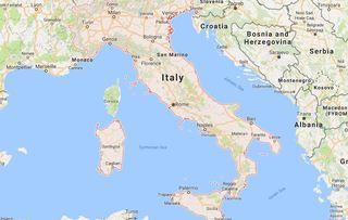 Quake shakes central Italy