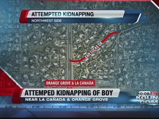 Suspicious man approaches 9-year-old