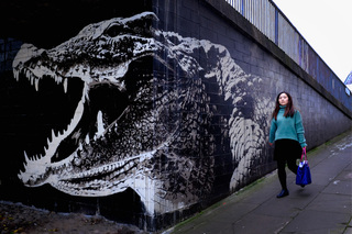 Glasgow's first City Centre Mural Trail
