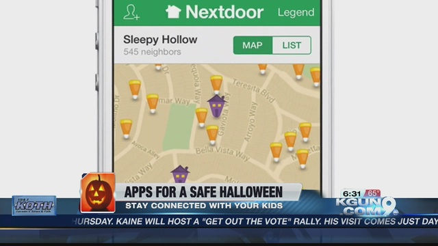 Apps to keep your kids safe this halloween kgun9 com