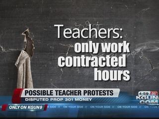 TUSD teacher protest over Prop 301 money