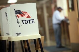 Kids across America voting for president