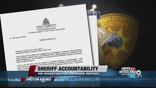 Sheriff Probe: HR investigator defends report