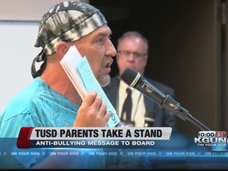 Parents send anti-bullying message to TUSD