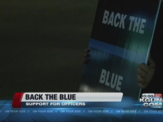 Tucsonans show support for law enforcement