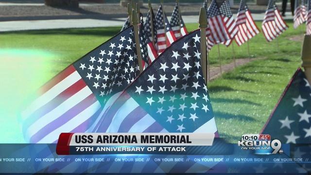 ... of 1,177 servicemen aboard the USS Arizona, based in Pearl Harbor