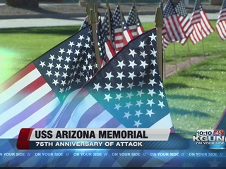USS Arizona Mall Memorial officially dedicated