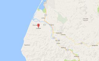 Huge earthquake reported in California