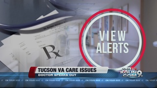 Tucson VA doctor resigns, says patients at risk