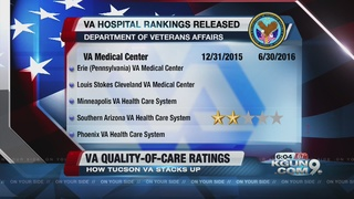 Tucson VA receives a 2-star rating on care
