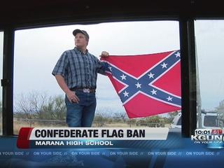 Marana HS bans Confederate Flag on campus