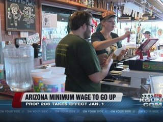 Statewide minimum wage will increase on Sunday