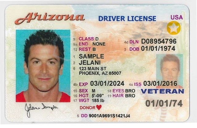Arizona Id S Valid For Air Travel Until October 2020