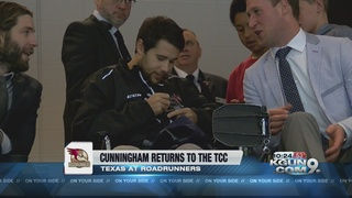 Craig Cunningham returns to the Tucson Arena