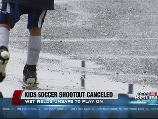 Sunday games canceled at soccer shootout